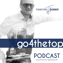 Podcast Logo go4thetop Thorsten Gerber