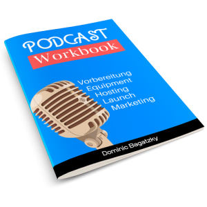 Podcast Workbook 3D Mockup
